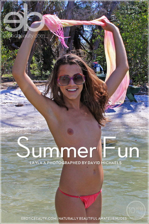 Layla A - `Summer Fun` - by David Michaels for EROTICBEAUTY