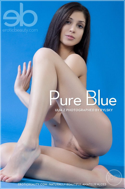 Ulia Z - `Pure Blue` - by Rylsky for EROTICBEAUTY