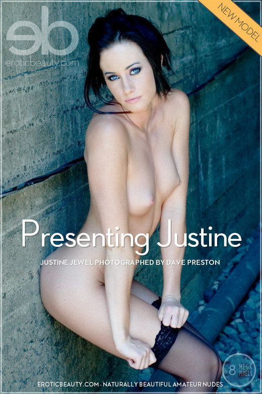Justine Jewel - `Presenting Justine` - by Dave Preston for EROTICBEAUTY