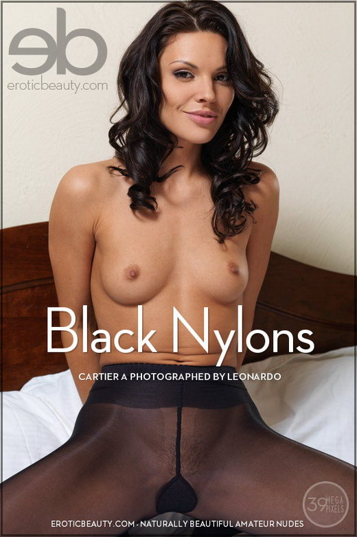 Cartier A - `Black Nylons` - by Leonardo for EROTICBEAUTY