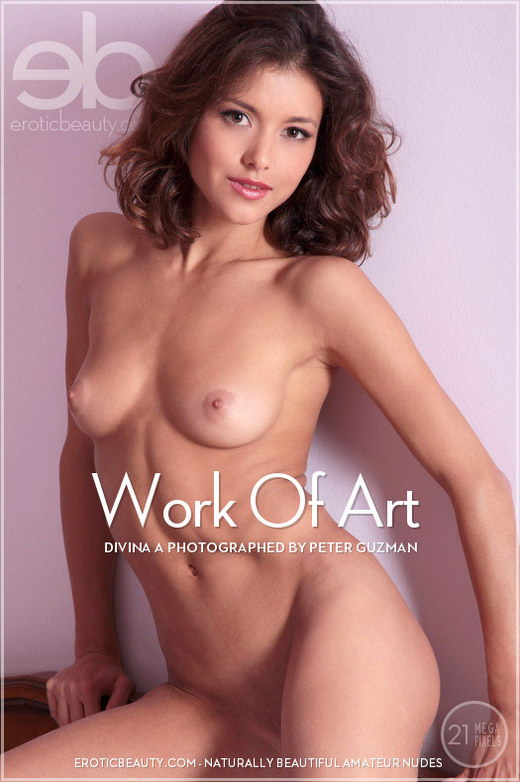 Divina A - `Work Of Art` - by Peter Guzman for EROTICBEAUTY