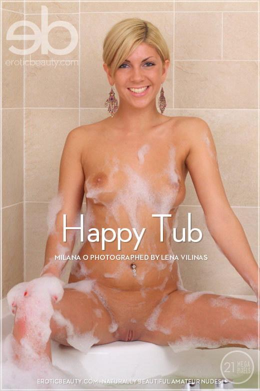 Milana O - `Happy Tub` - by Lena Vilinas for EROTICBEAUTY