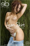 Kiki A in Jean Skirt gallery from EROTICBEAUTY by Jolyon Ritchie