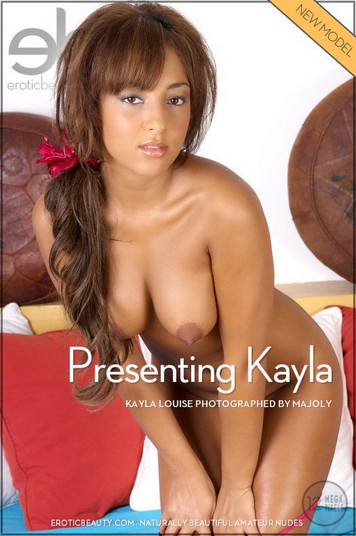 Kayla Louise - `Presenting Kayla` - by Majoly for EROTICBEAUTY