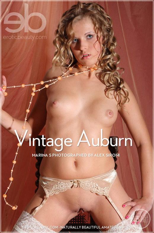 Marina S - `Vintage Auburn` - by Alex Sironi for EROTICBEAUTY