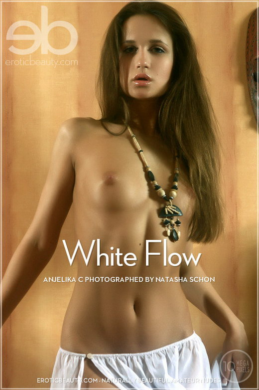 Anjelika C - `White Flow` - by Natasha Schon for EROTICBEAUTY