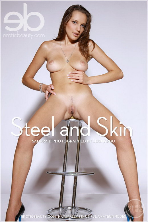 Sandra D - `Steel and Skin` - by Leonardo for EROTICBEAUTY
