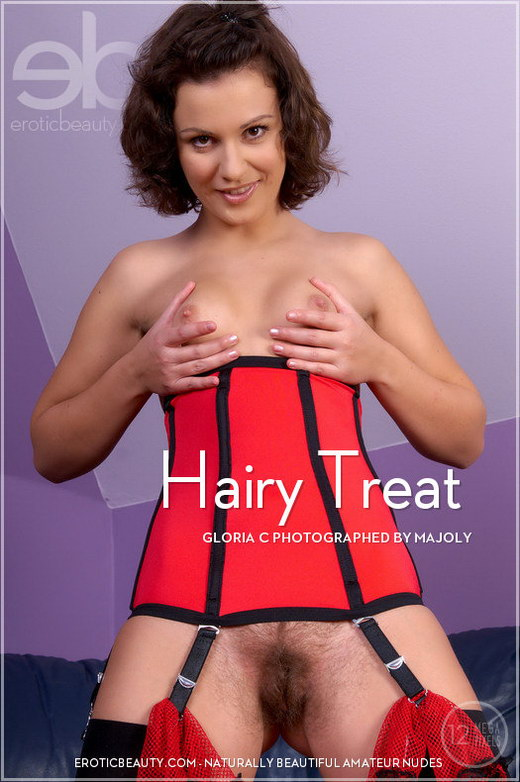 Gloria C - `Hairy Treat` - by Majoly for EROTICBEAUTY