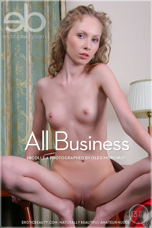 Nicolle A - `All Business` - by Oleg Morenko for EROTICBEAUTY