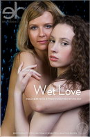 Maja & Renata B in Wet Love gallery from EROTICBEAUTY by Rylsky