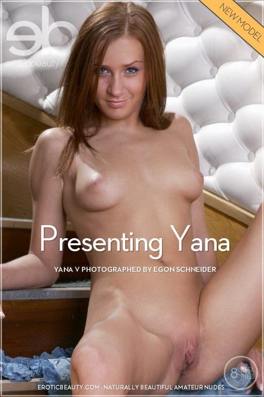 Yana V - `Presenting Yana` - by Egon Schneider for EROTICBEAUTY