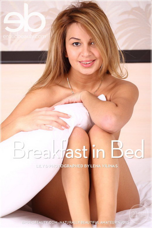 Lily D - `Breakfast in Bed` - by Lena Vilinas for EROTICBEAUTY