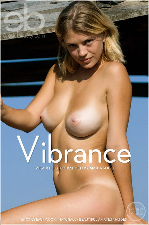 Vika R - `Vibrance` - by Max Asolo for EROTICBEAUTY