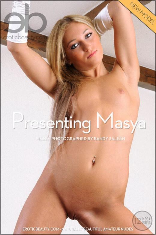 Masya - `Presenting Masya` - by Randy Saleen for EROTICBEAUTY