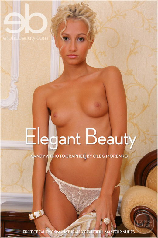 Sandy A - `Elegant Beauty` - by Oleg Morenko for EROTICBEAUTY