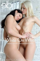 Cristina A & Penny A in White On White gallery from EROTICBEAUTY by Ingret