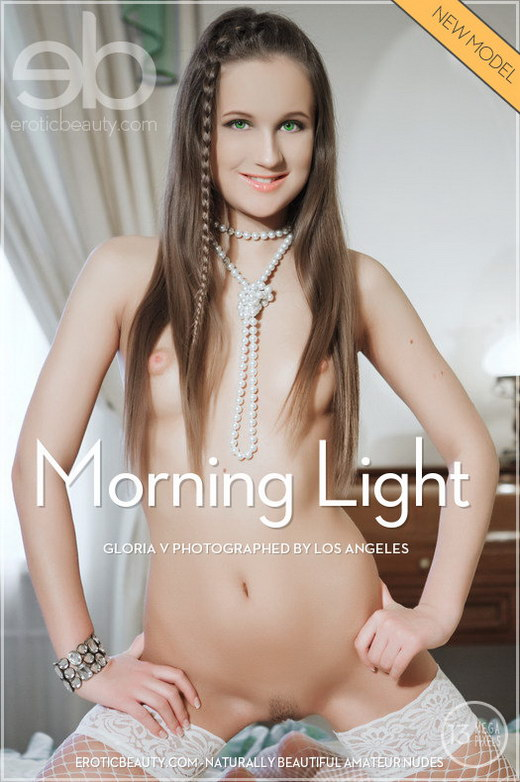 Gloria V - `Morning Light` - by Los Angeles for EROTICBEAUTY