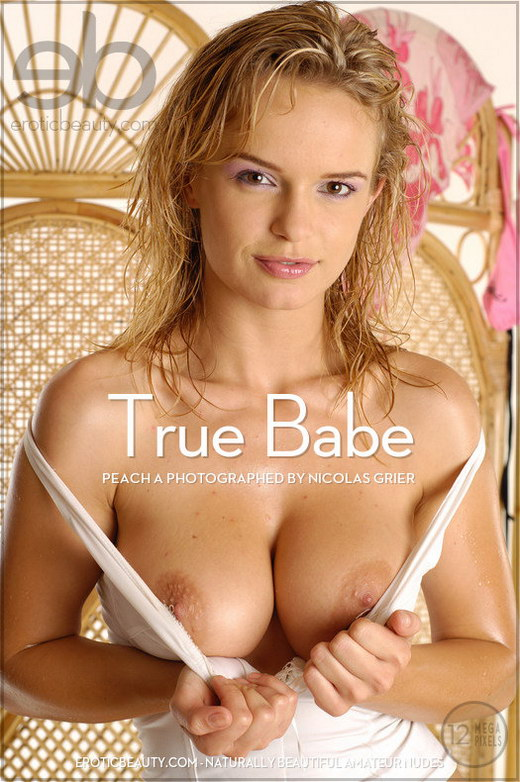 Peach A - `True Babe` - by Nicolas Grier for EROTICBEAUTY