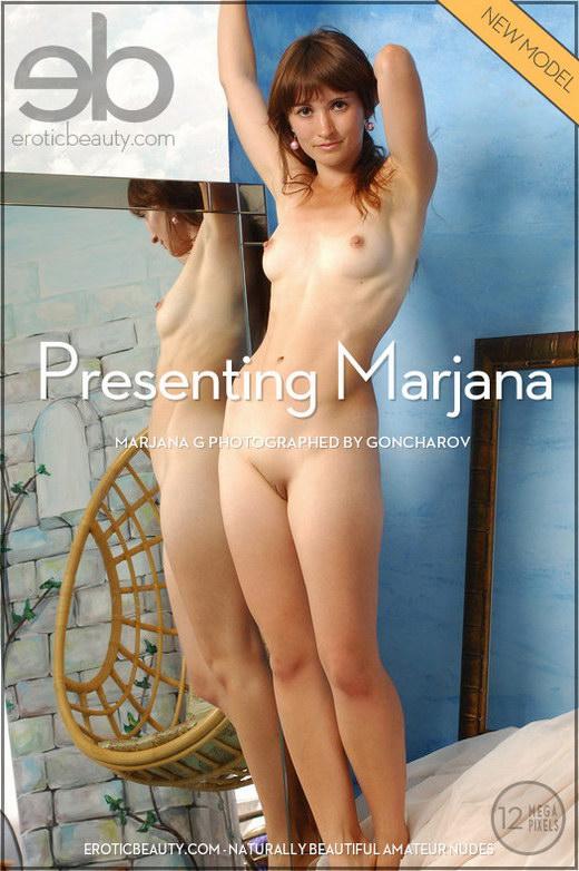 Marjana G - `Presenting Marjana` - by Goncharov for EROTICBEAUTY