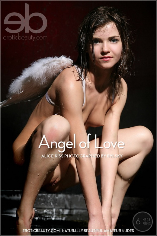 Alice Kiss - `Angel of Love` - by Rylsky for EROTICBEAUTY