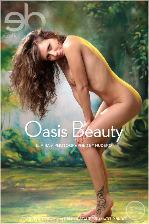 Elvira A - `Oasis Beauty` - by Nudero for EROTICBEAUTY