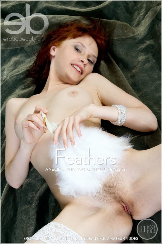 Anelie A - `Feathers` - by Rylsky for EROTICBEAUTY