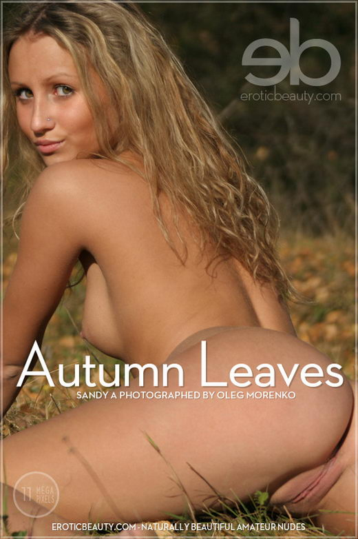 Sandy A - `Autumn Leaves` - by Oleg Morenko for EROTICBEAUTY