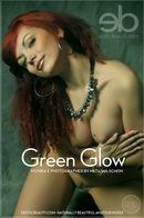 Monika E in Green Glow gallery from EROTICBEAUTY by Natasha Schon