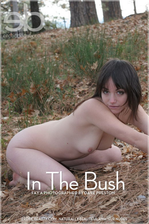 Fay A - `In The Bush` - by Dave Preston for EROTICBEAUTY