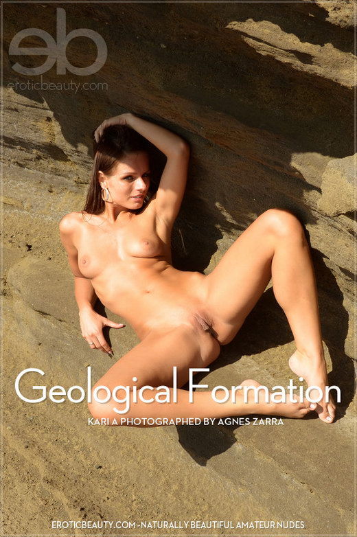 Kari A - `Geological Formation` - by Agnes Zarra for EROTICBEAUTY