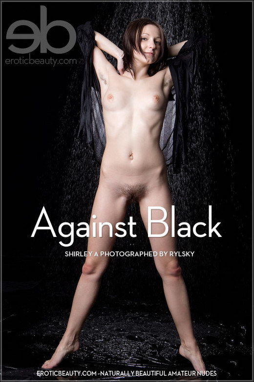 Shirley A - `Against Black` - by Rylsky for EROTICBEAUTY