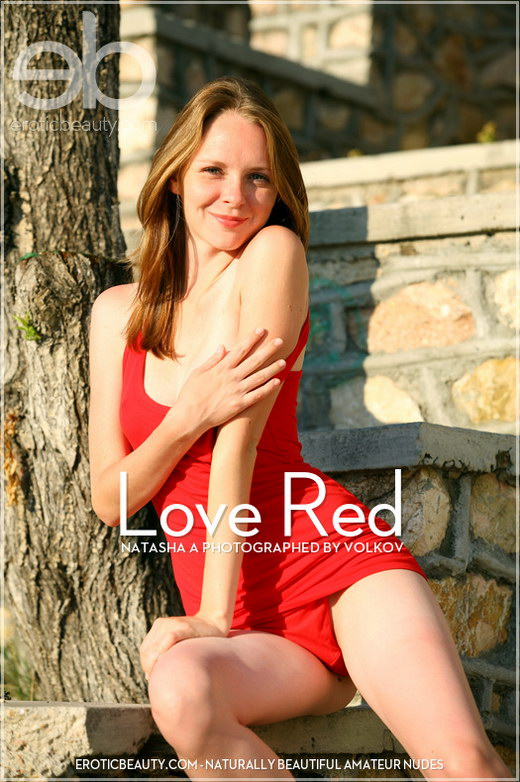 Natalia - `Love Red` - by Volkov for EROTICBEAUTY