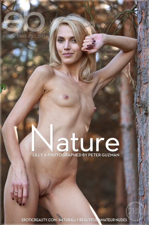 Lilly A - `Nature` - by Peter Guzman for EROTICBEAUTY