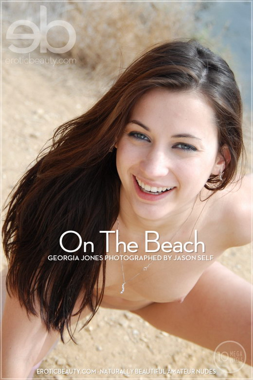 Georgia Jones - `On The Beach` - by Jason Self for EROTICBEAUTY