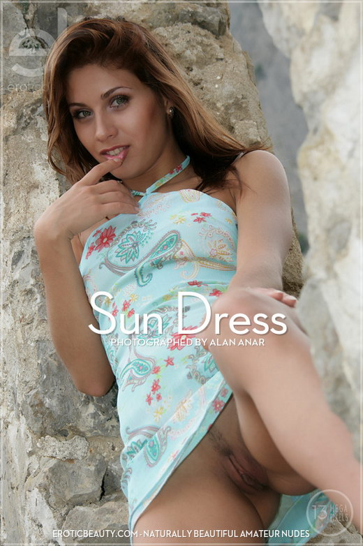 Arisha A - `Sun Dress` - by Alan Anar for EROTICBEAUTY