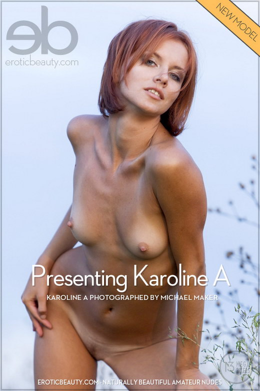 Karoline A - `Presenting Karoline A` - by Michael Maker for EROTICBEAUTY