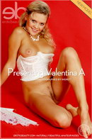 Valentina in Hot On Red gallery from EROTICBEAUTY by Ingret
