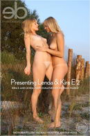 Presenting Lenda & Kira E gallery from EROTICBEAUTY by Michael Maker