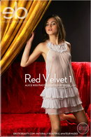 Alice Kiss in Red Velvet 1 gallery from EROTICBEAUTY by Rigin