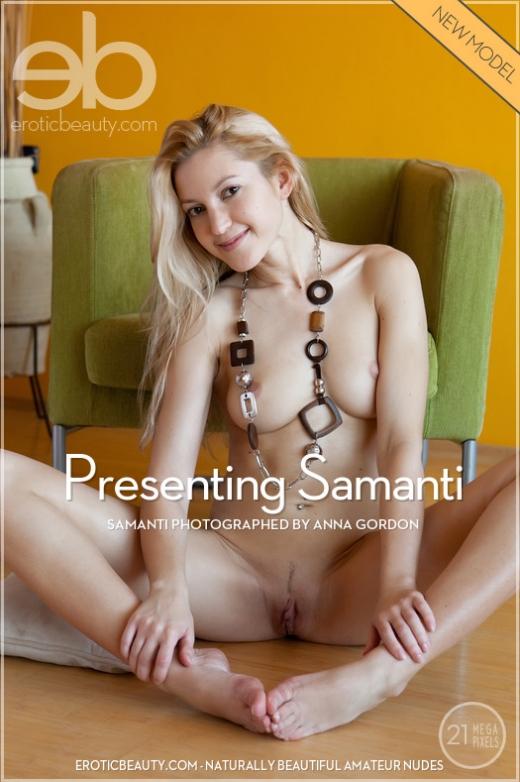 Presenting Samanti gallery from EROTICBEAUTY by Anna Gordon