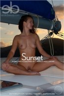 Sarka in Sunset gallery from EROTICBEAUTY by Charles Hollander