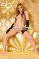Masya in Golden Bed gallery from EROTICBEAUTY by Randy Saleen