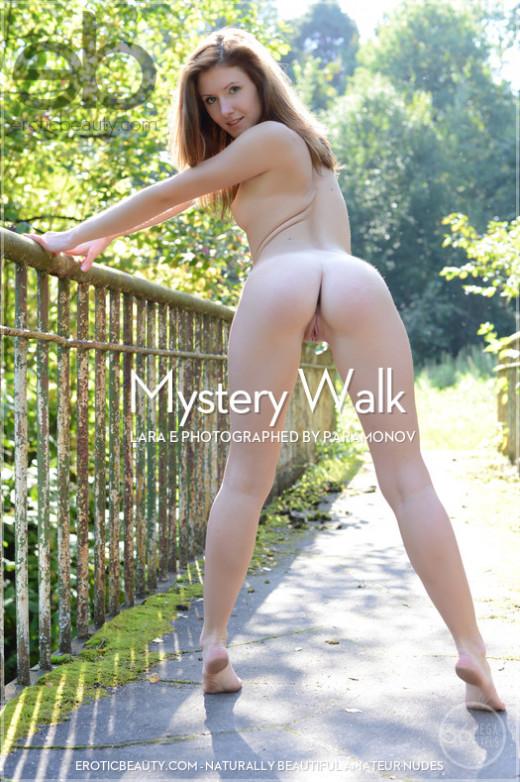 Lara E - `Mystery Walk` - by Paramonov for EROTICBEAUTY