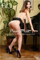 Charlotta Phillip in Playing Music gallery from EROTICBEAUTY by Slastyonoff