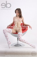 Diana F in Red & White gallery from EROTICBEAUTY by Michael Maker