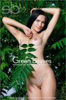 Indiana Blanc in Green Leaves gallery from EROTICBEAUTY by Matiss