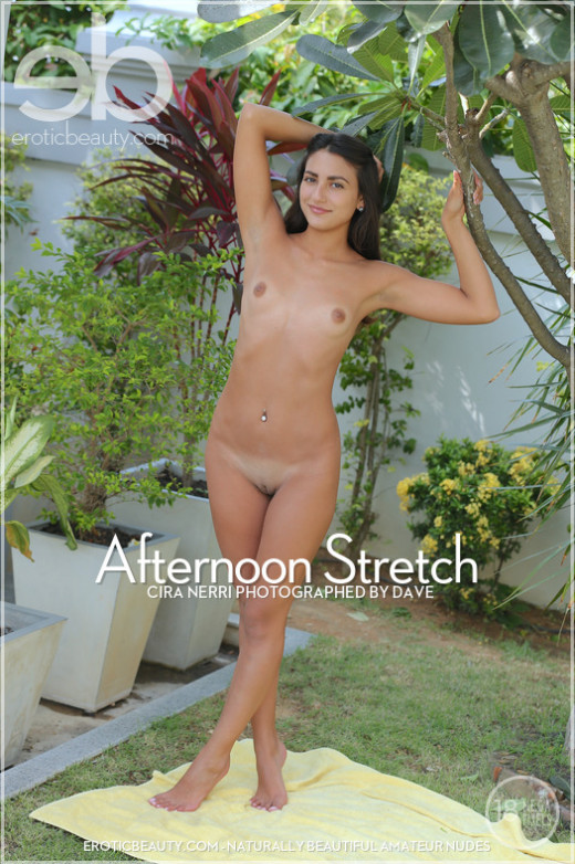Cira Nerri - `Afternoon Stretch` - by Dave for EROTICBEAUTY