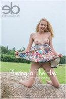 Bernie in Playing In The Hay gallery from EROTICBEAUTY by Tora Ness