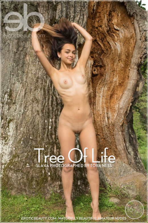 Slava in Tree Of Life gallery from EROTICBEAUTY by Tora Ness