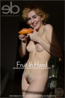 Monroe in Fruit In Hand gallery from EROTICBEAUTY by Paramonov